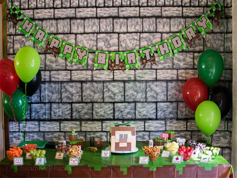 Minecraft Gaming Party